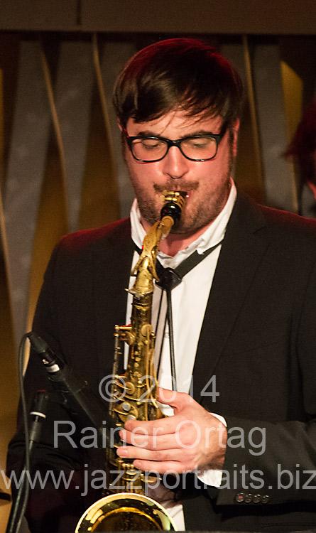 Alexander Sandi Kuhn im Jazzclub Bix Stuttgart 2014