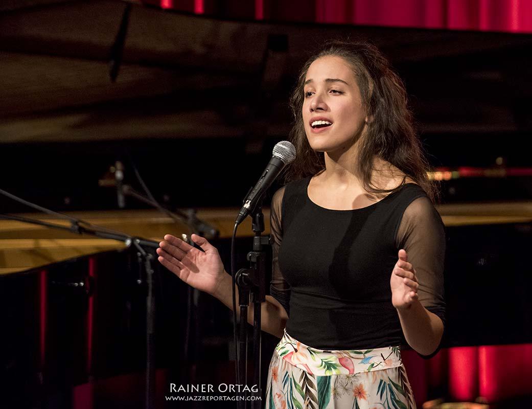 Alma Naidu bei der JazzTime Boeblingen 2020