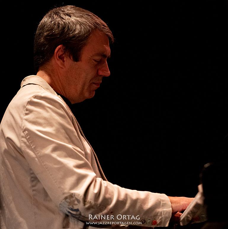 Andrea Pozza mit dem Dameronias Legacy Allstar Octet beim Jazzfestival Esslingen 2021