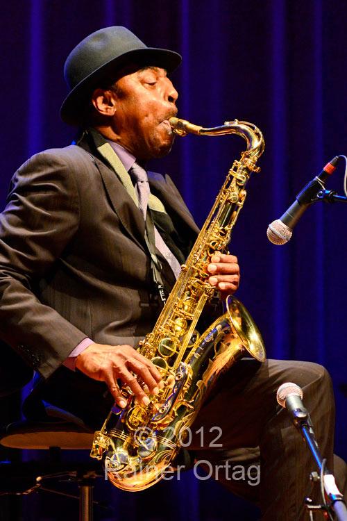 Archie Shepp beim enjoy jazz festival in Ludwigsburg 2012