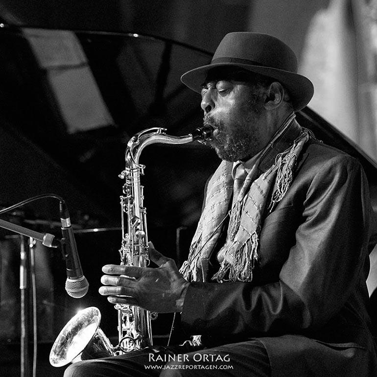 Archie Shepp beim enjoy jazz festival 2019