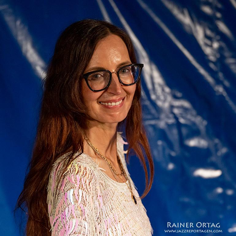 Barbara Dennerlein im Kulturzelt Sindelfingen 2021