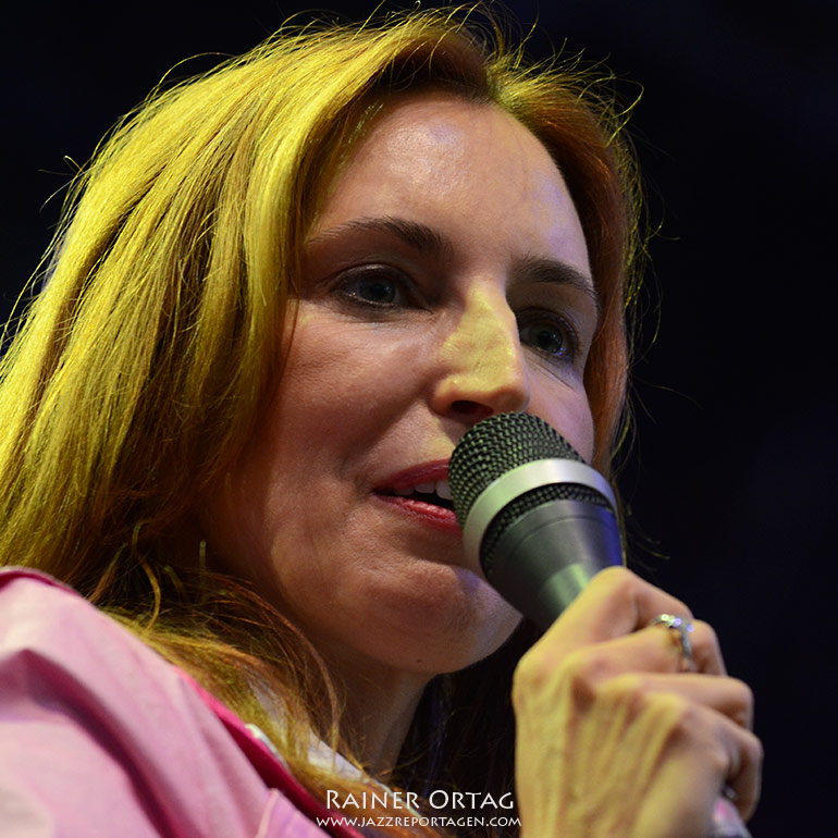 Barbara Dennerlein bei der Nova Jazz und Blues Night 2012 in Wiesen (A)