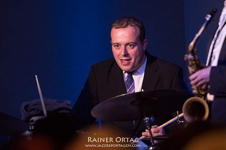 Bernd Reiter mit dem Patrick Bianco Quintett im Jazzkeller Esslingen 2018