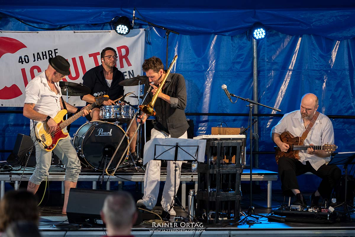 Bodenseh's Metronome Art - Sindelfinger Jazztage 2021
