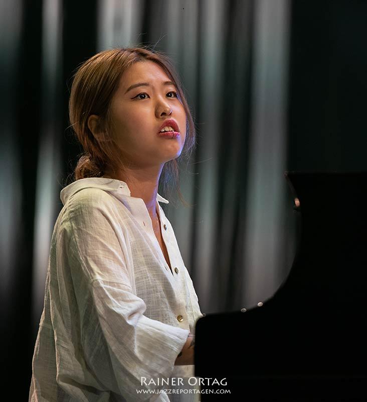 Chaerin Im mit dem Sun-Mi Hong Quintet bei der jazzahead 2021 in Bremen