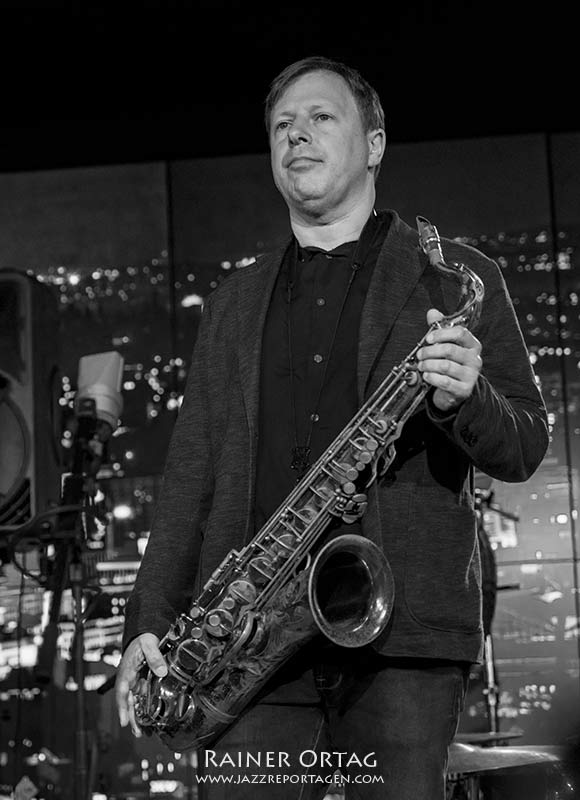 Chris Potter mit dem Pérez Cohen Potter Quintet bei der jazzopen Stuttgart 2019