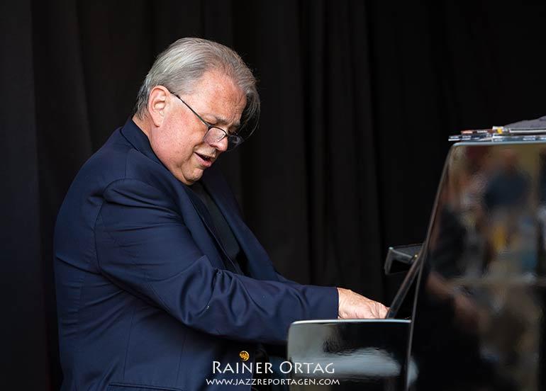David Hazeltine mit The European Allstars - Jazzkeller Esslingen im Komma 2021