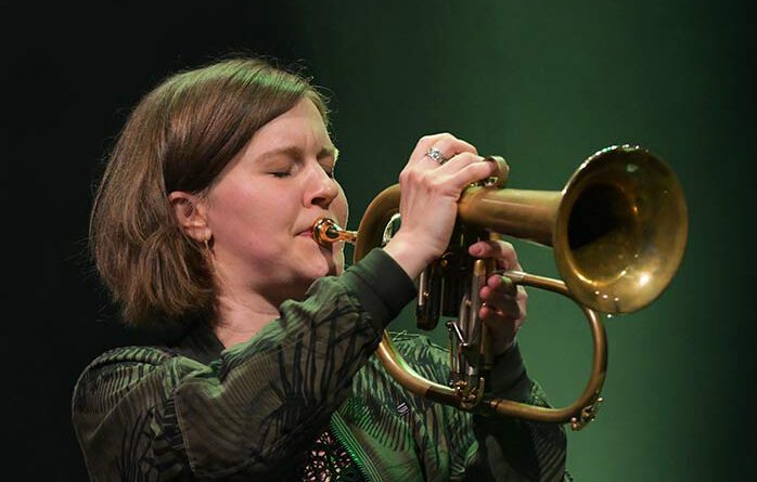 Heidi Bayer bei der jazzahead 2021 in Bremen