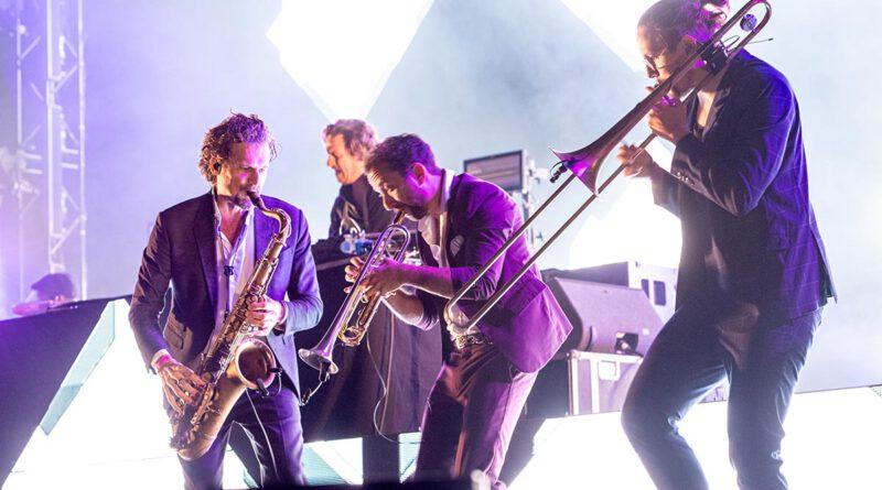 Parov Stelar bei der jazzopen am Schlossplatz in Stuttgart 2021