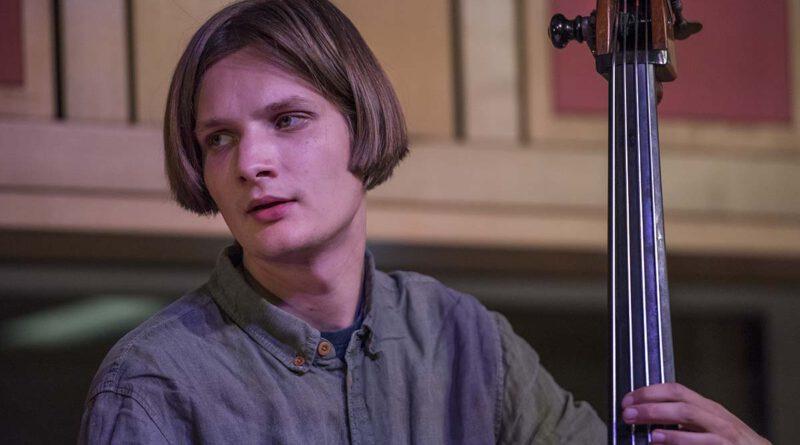 Jakob Obleser mit dem Clara Vetter Trio im SWR Studio Tübingen