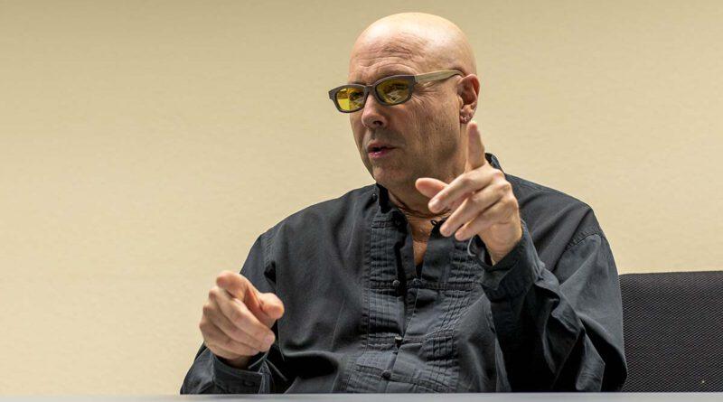 John Beasley im SWR-Studio Stuttgart 2020