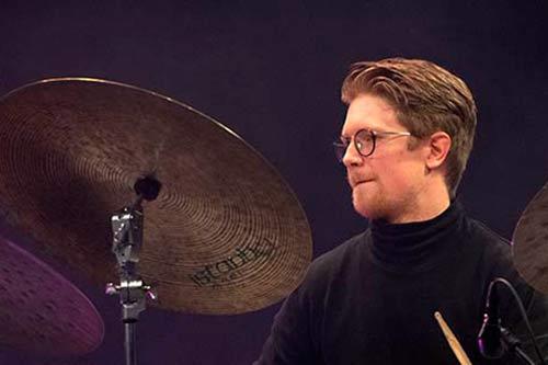 Karl-Friedrich Degenhardt mit Heidi Bayer bei der jazzahead 2021 in Bremen