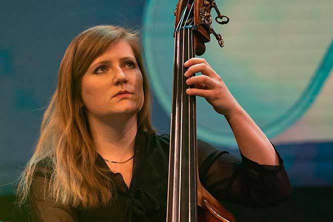 Lisa Wulff bei der jazzahead 2021 in Bremen