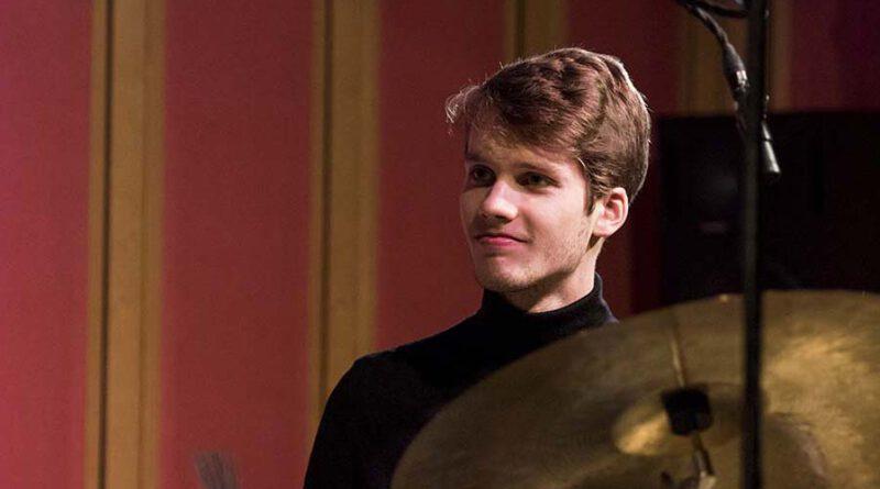 Lucas Klein mit dem Clara Vetter Trio im SWR Studio Tübingen