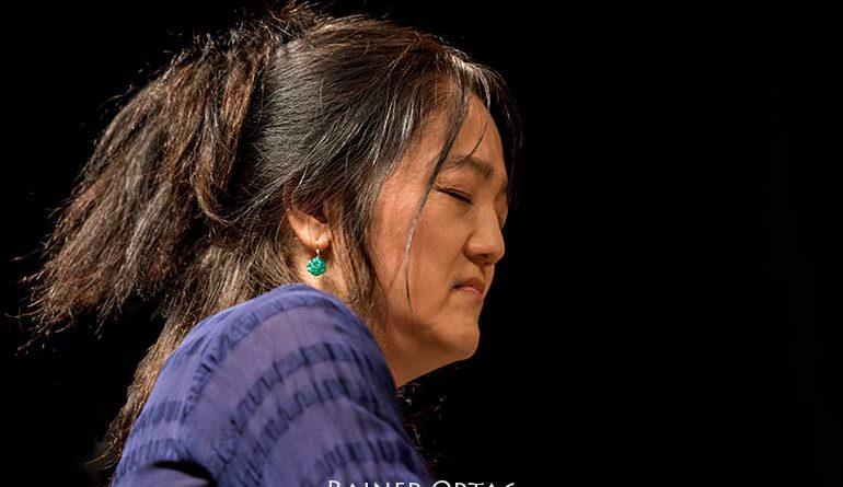 Makiko Hirabayashi mit dem Makiko Hirabayashi Trio bei der jazzahead! 2019 in Bremen