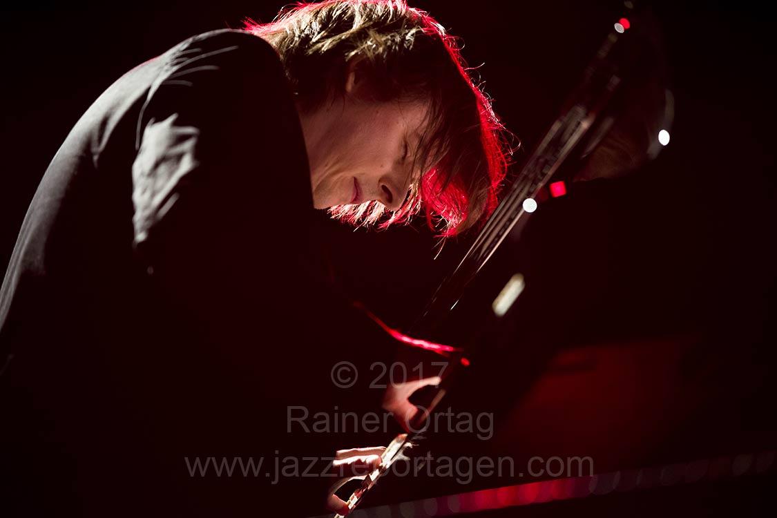 Michael Wollny beim Piano Summit im Theaterhaus Stuttgart 2017