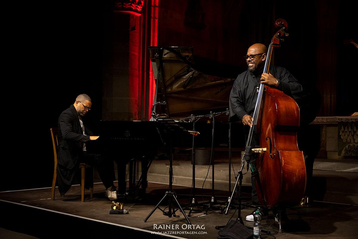 Jason Moran - Christian McBride Duo beim Jazzfestival Esslingen 2021