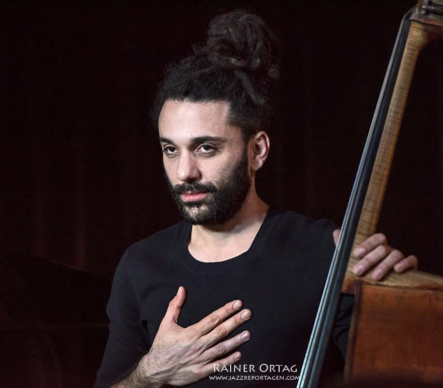 Or Bareket mit dem Nitai Hershkovits Trio im Pappelgarten Reutlingen