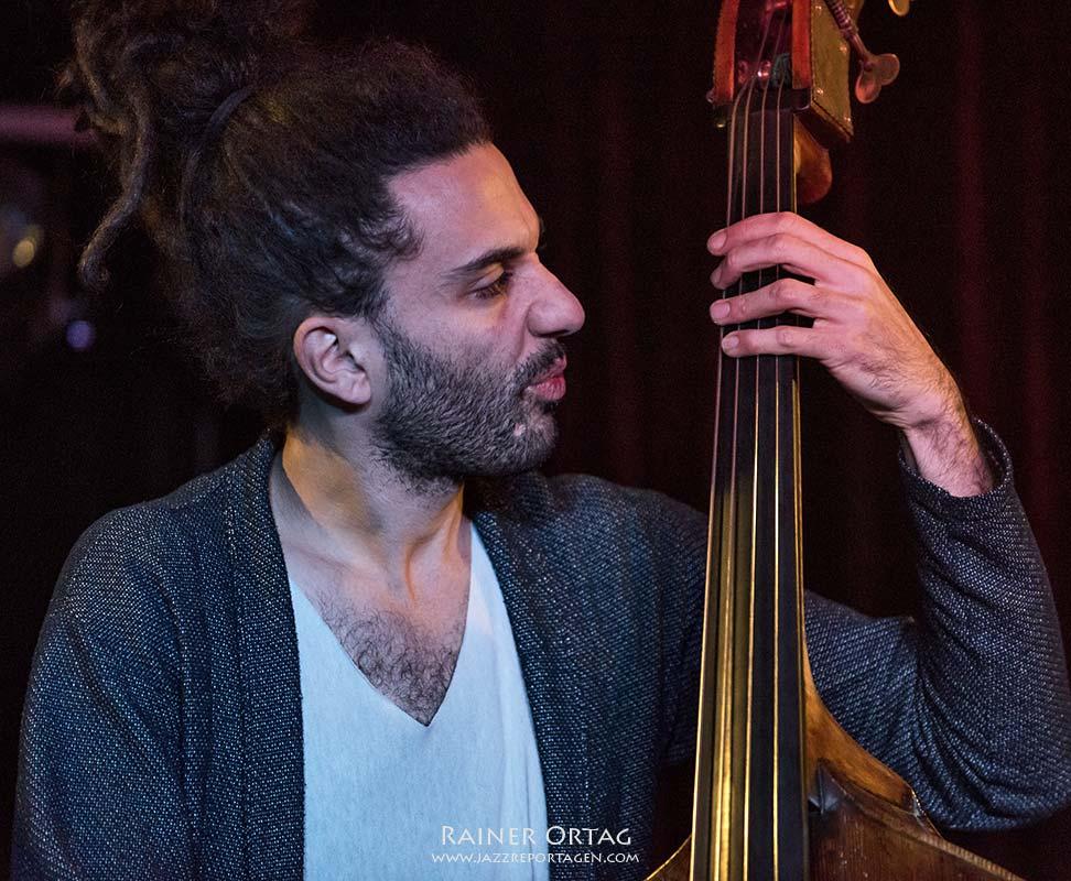 Or Bareket mit seinem Quartet im Pappelgarten Reutlingen 2018