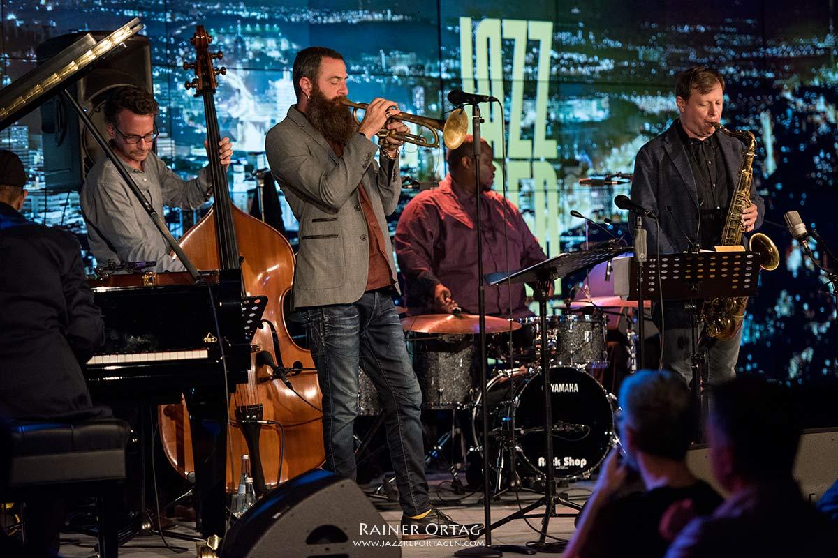 Pérez Cohen Potter Quintet bei der jazzopen Stuttgart 2019: