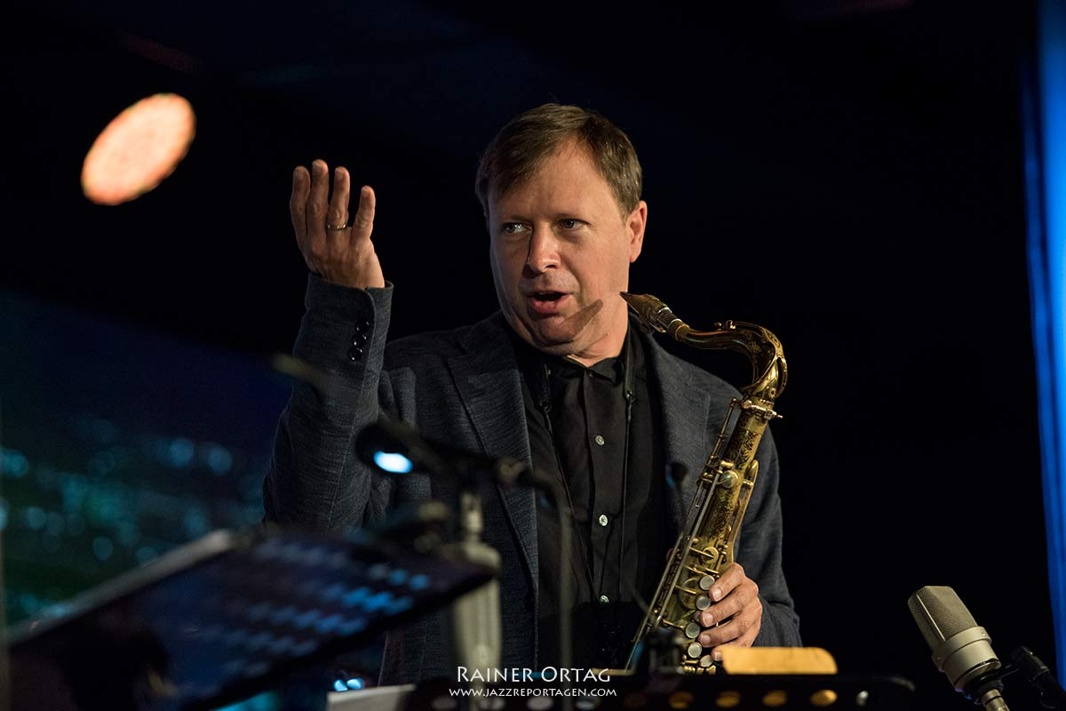 Pérez Cohen Potter Quintet bei der jazzopen Stuttgart 2019
