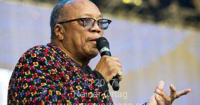 Quincy Jones bei der jazzopen Stuttgart 2017