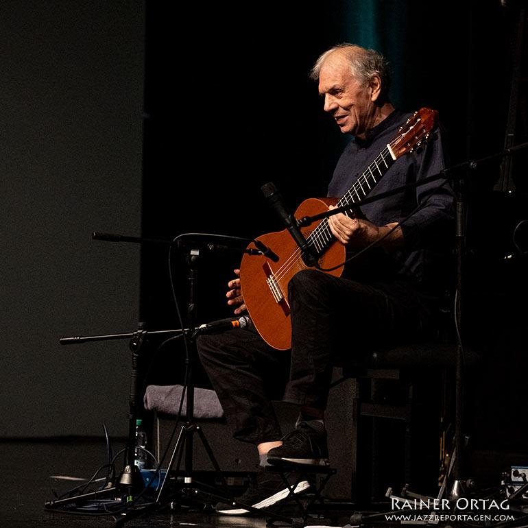 Ralph Towner beim Jazzfestival Esslingen 2021