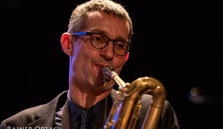 Rik van der Bergh mit dem Dameronias Legacy Allstar Octet beim Jazzfestival Esslingen 2021