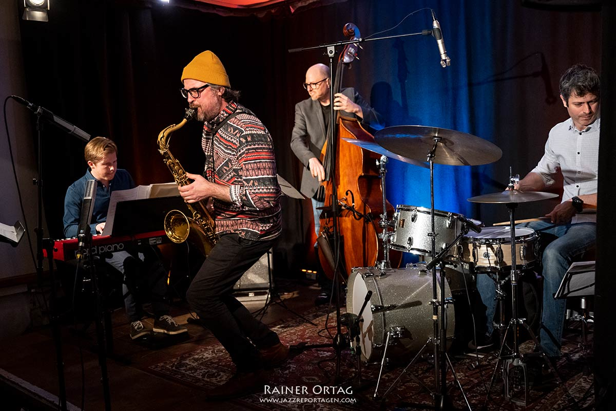 Sandi Kuhn Quartett - Livestream-Konzert des Jazzclub Tübingen im Club Voltaire 2021
