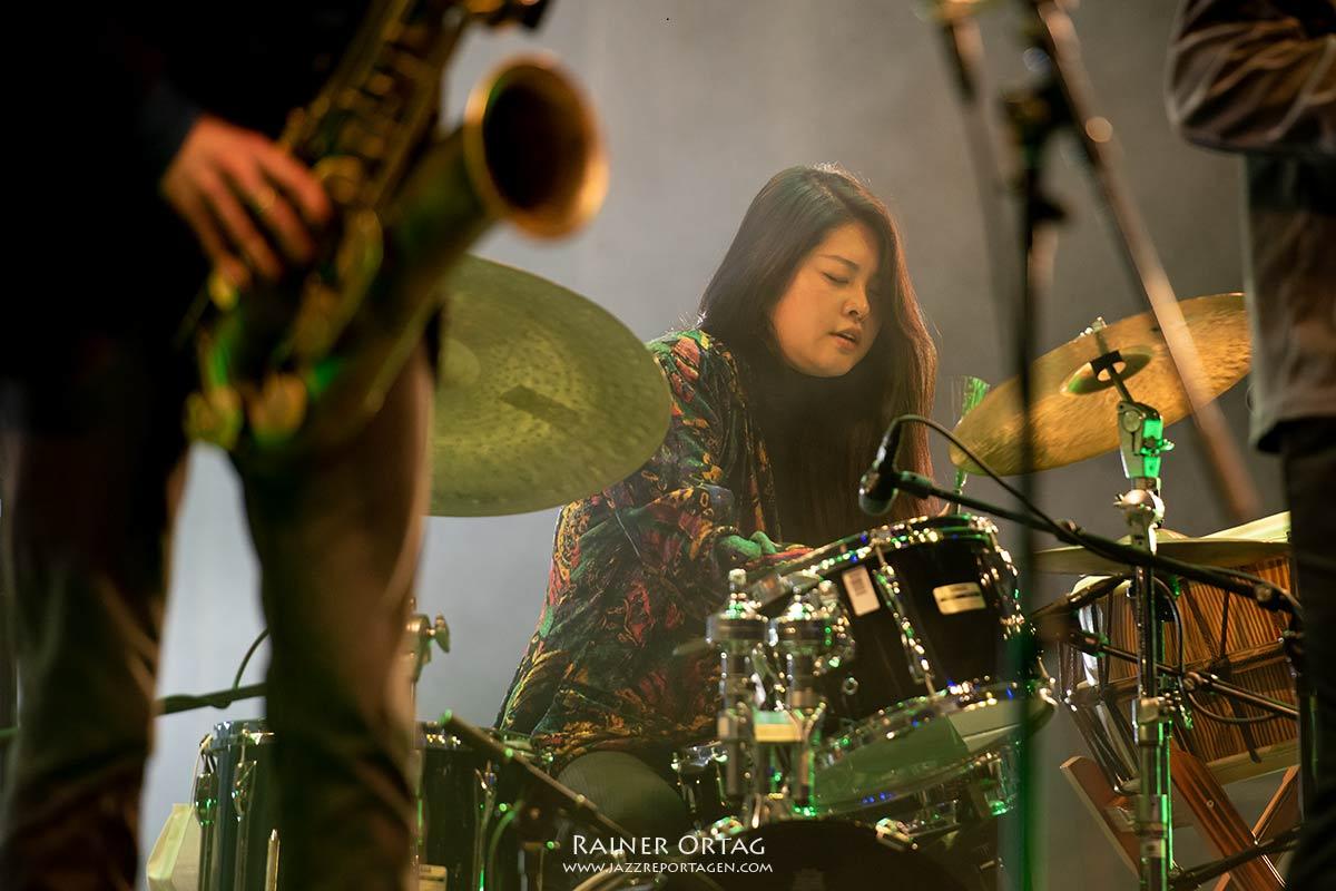 Sun-Mi Hong Quintet bei der jazzahead 2021 in Bremen