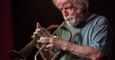 Werner Bystrich mit seinem Sextet bei der Jazz Jamsession Pappelgarten 2.7.2020