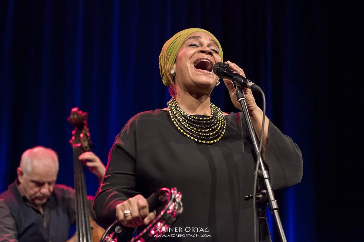 Cécile Verny Quartet im Sudhaus Tübingen 2020