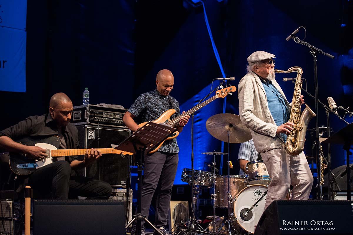 Charles Lloyd Quartet in Rottenburg