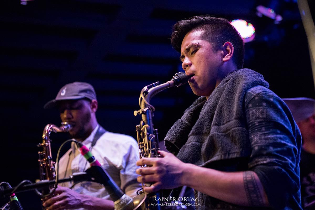 Ghost Note bei der jazzopen Stuttgart 2019 im Jazzclub Bix