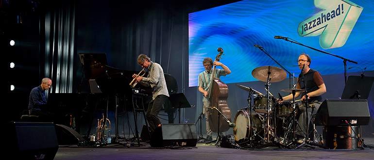 Eröffnung der jazzahead! 2021 in Bremen mit der Markus Stockhausen GROUP