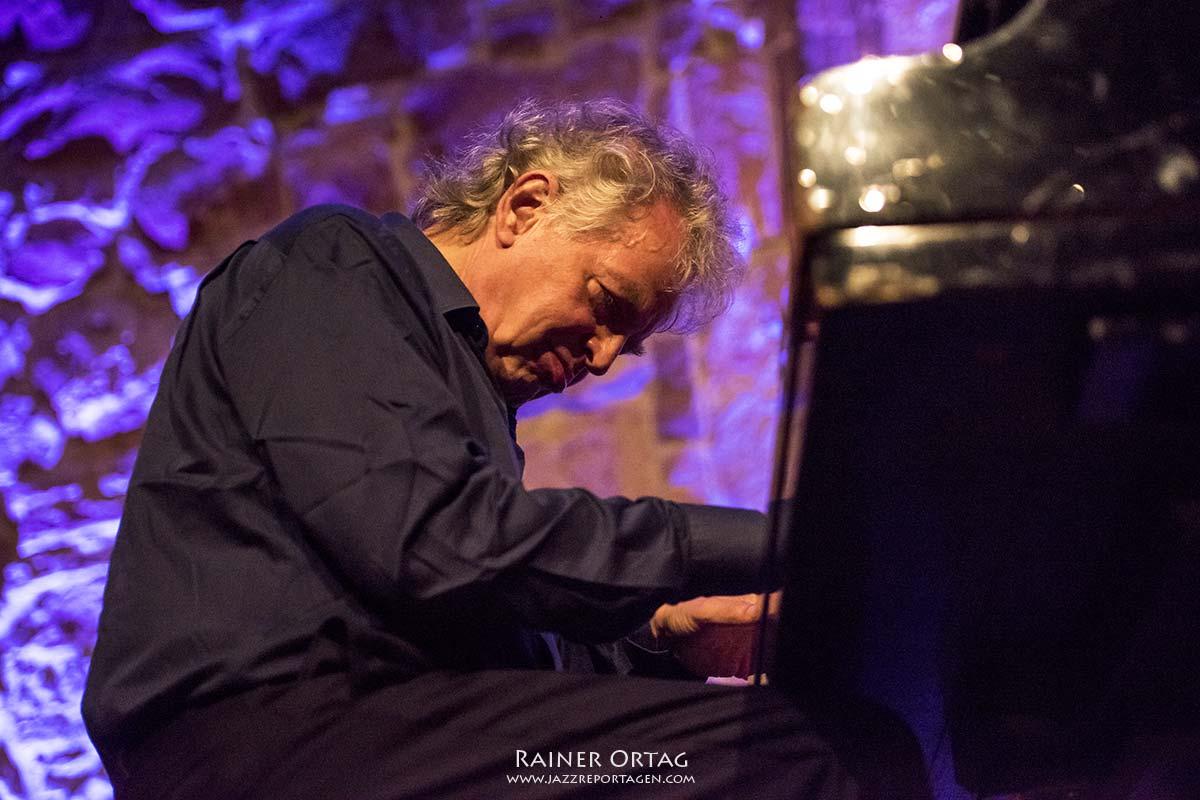 Joachim Kühn und Archie Shepp beim enjoy jazz festival 2019