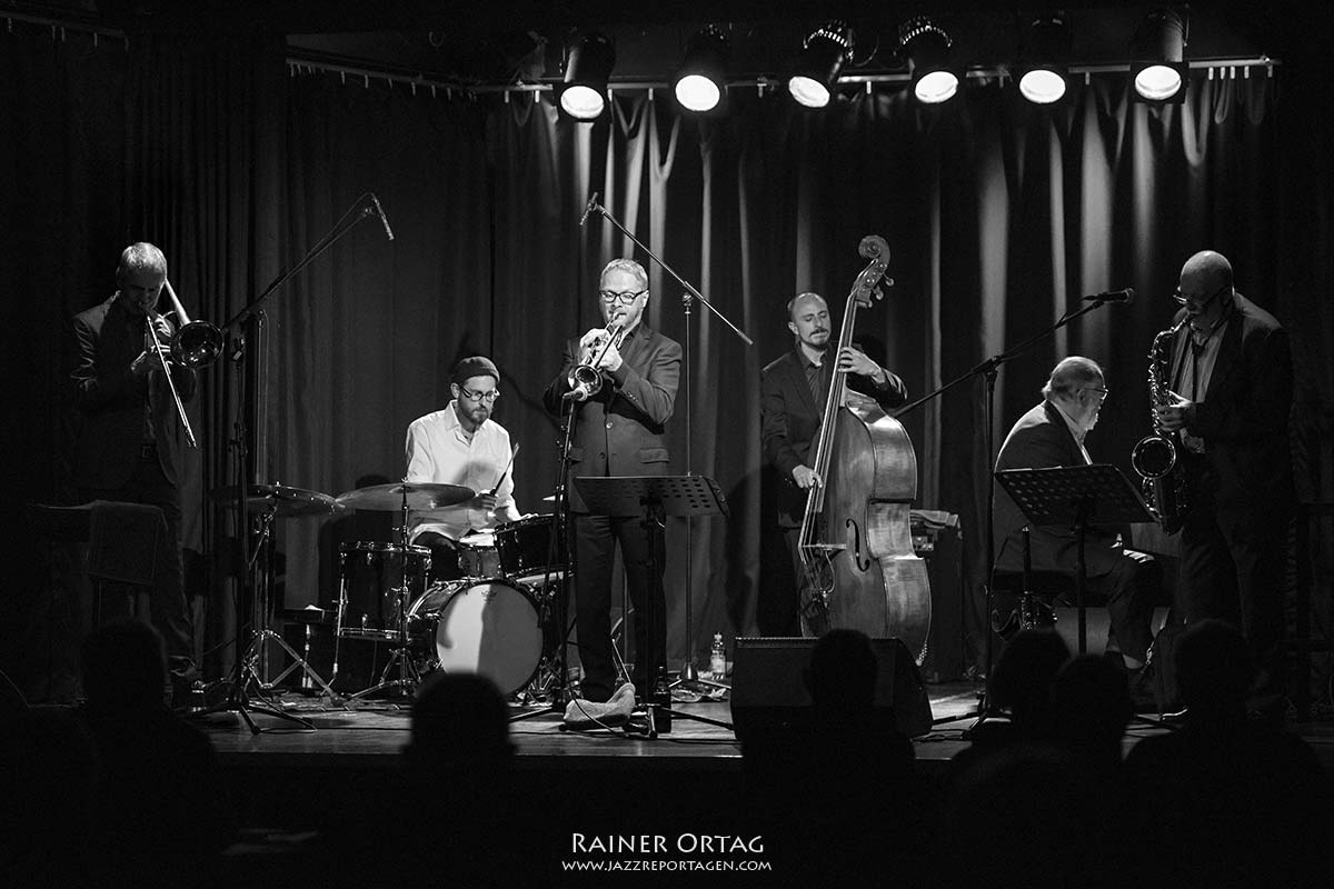 Joe Haider Sextett, Jazzkeller Esslingen im Komma 2020