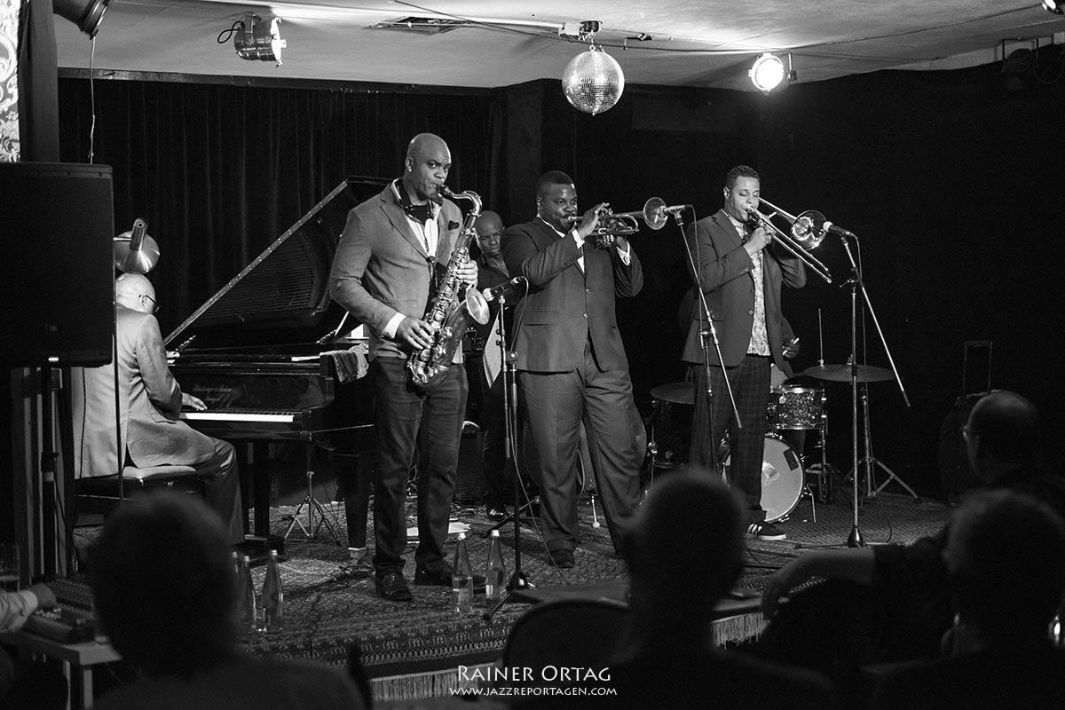 Black Art Jazz Collective im Pappelgarten Reutlingen 2019