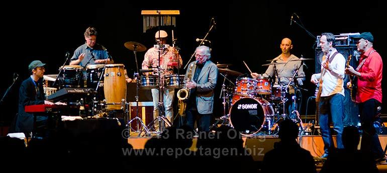 Klaus Doldinger's Passport in der Kongresshalle Böblingen beim Big Sounds Festival