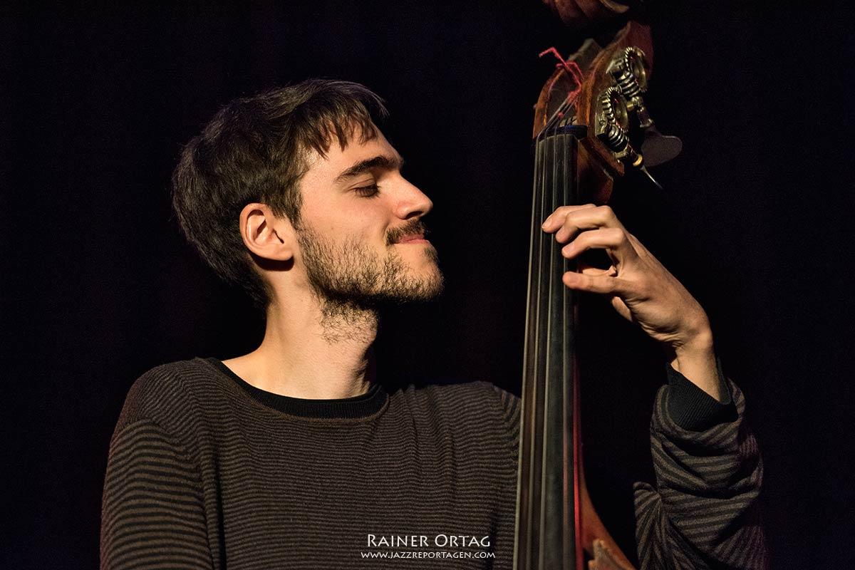 Elliot Galvin Trio im Sudhaus Tübingen 2019