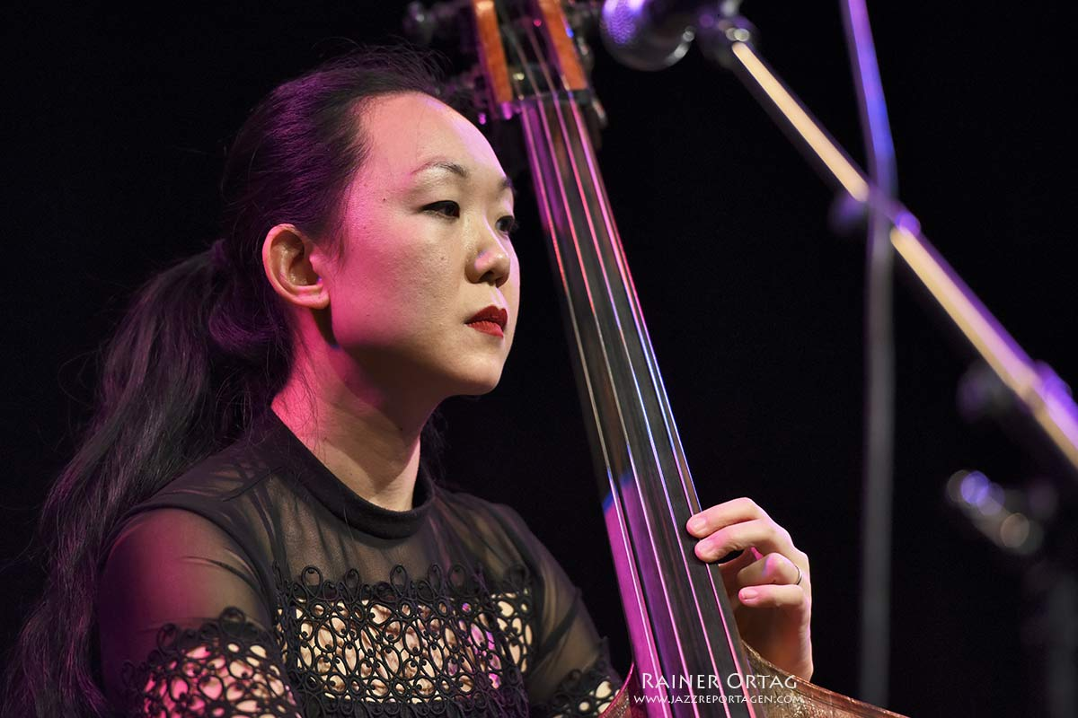 Linda May Han Oh bei der Overseas Night der Jazzahead! 2019