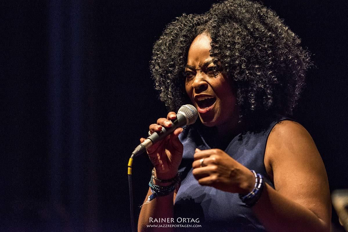 Quiana Lynell bei der Overseas Night der Jazzahead! 2019