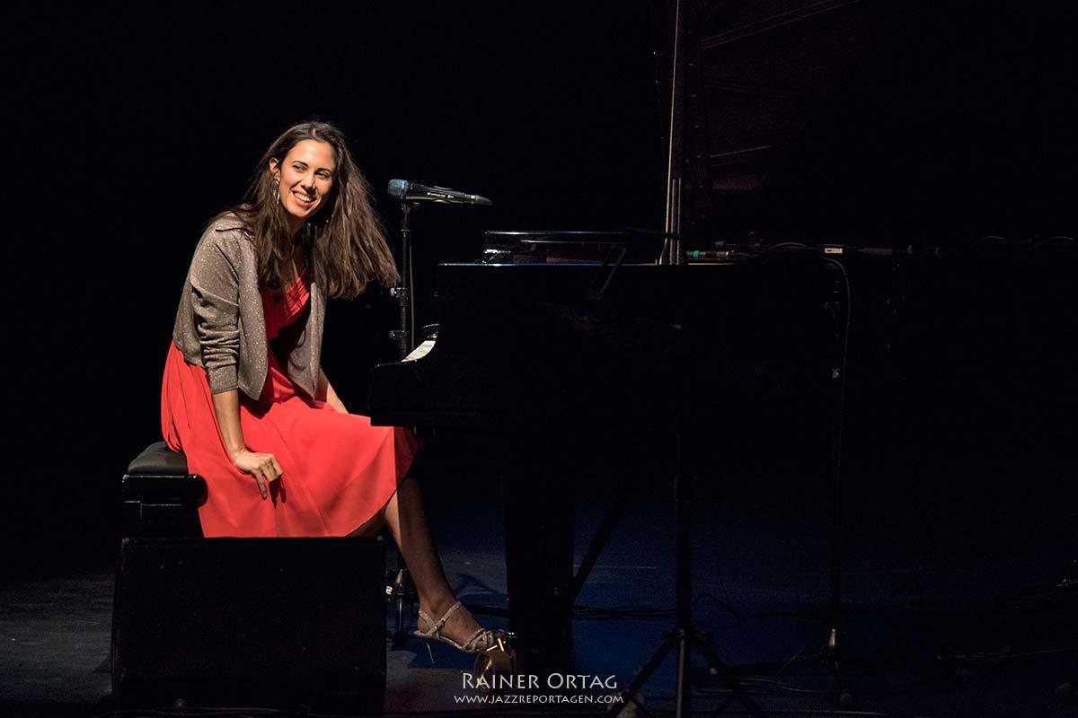 Olivia Trummer bei der Jazzpreis BW Verleihung 2019