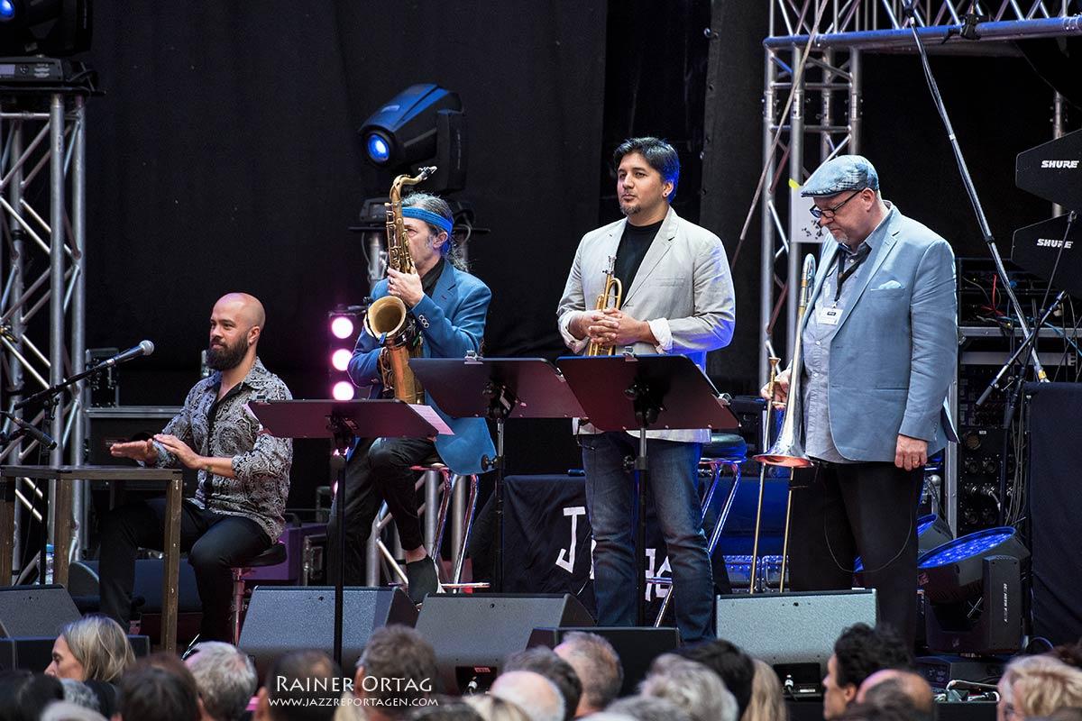 Chick Corea bei der jazzopen Stuttgart 2019 im Alten Schloß