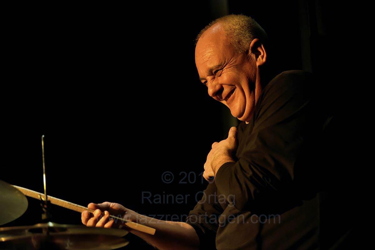 Lorenzo De Finti Quartett im Club Voltaire Tübingen 2019