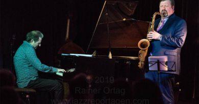 Johannes Mössinger - Joel Frahm Duo im Pappelgarten Reutlingen 2019