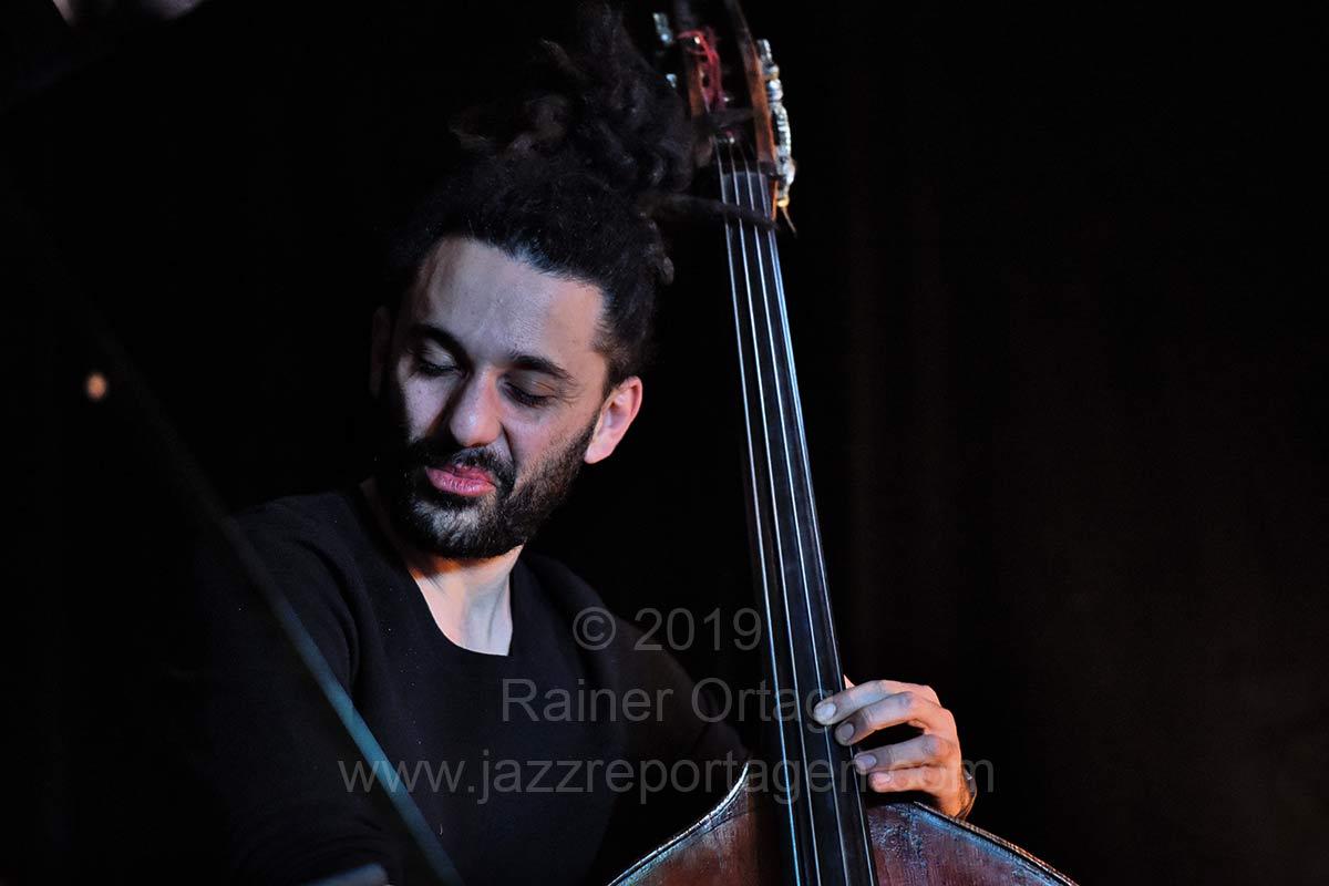 Nitai Hershkovits Trio im Pappelgarten; Reutlingen 2019