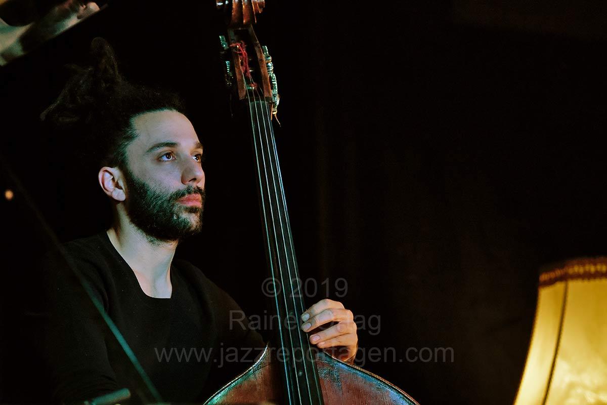 Nitai Hershkovits Trio im Pappelgarten Reutlingen 2019