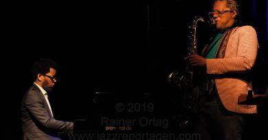 Aruán Ortiz / Don Byron in der Dieselstrasse Esslingen 2019